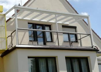 Realizace terasy v patře rodinného domu
