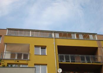 Realizace terasy v posledním patře bytového domu